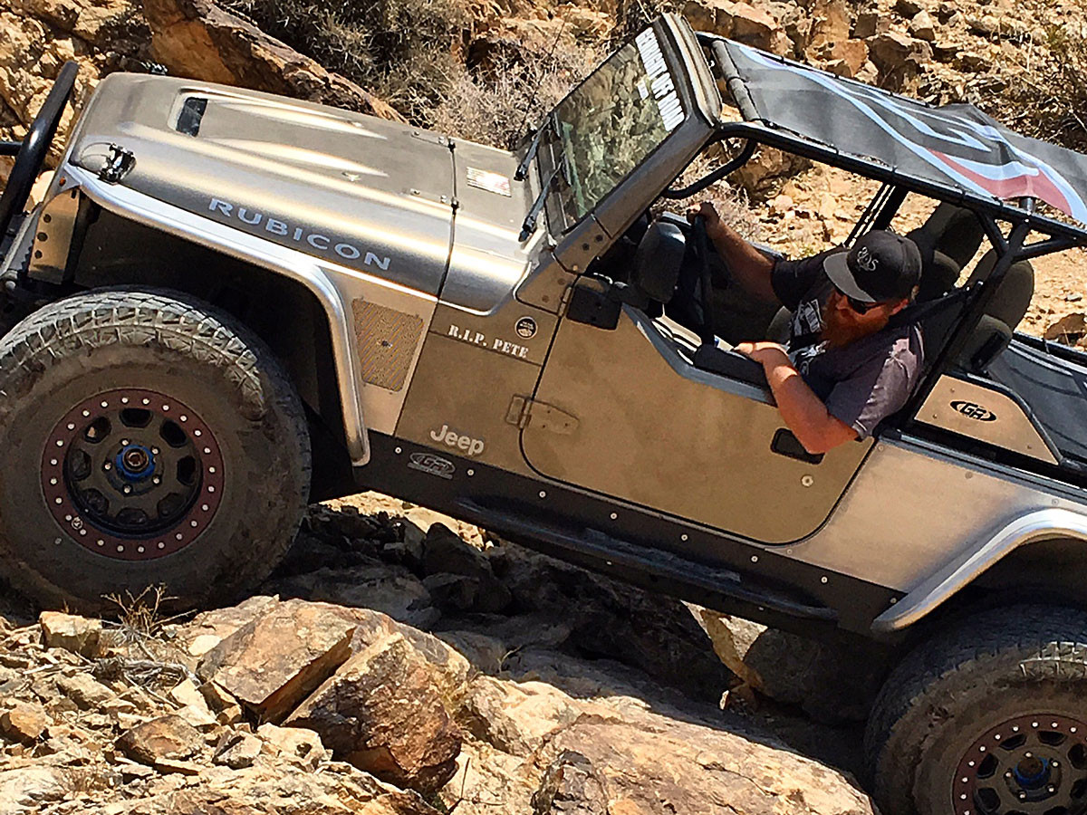 Andrew's LJ with GenRight Rocker Guards