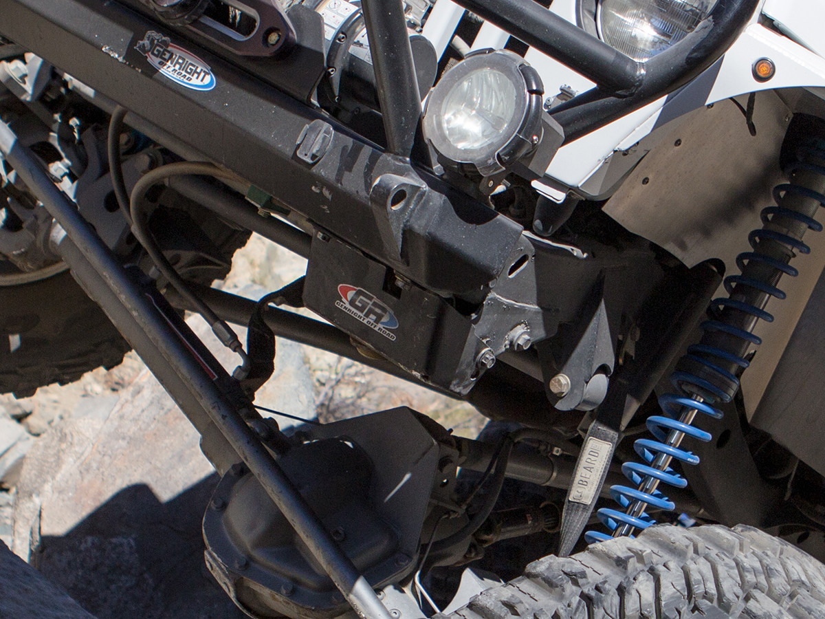 Jeep TJ/LJ Steering Box Skid Plate