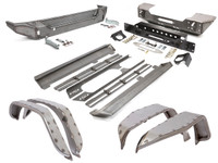 JK (4 Door) Trail Armor Package - Steel