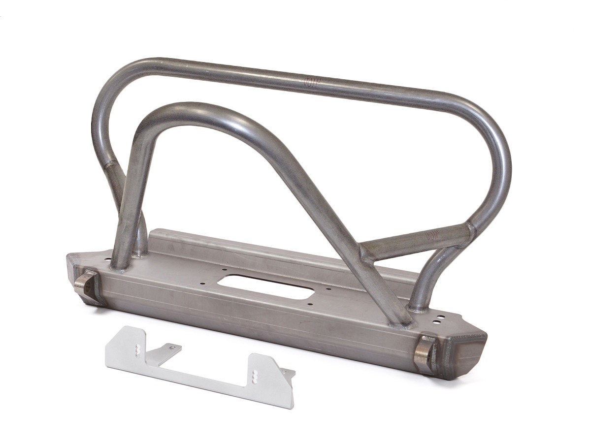 GenRight's Jeep YJ Boulder/Grill Guard Front Bumper