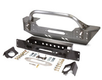 JK Low Profile Winch Guard Front Bumper - Steel