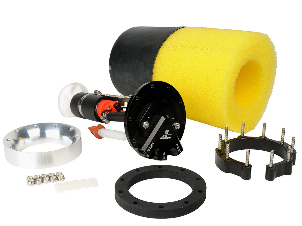 Aeromotive Phantom 200 In Tank Fuel Pump Baffle System Genright Jeep Image 1