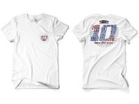 GenRight 10 Year Anniversary SS Shirt - White