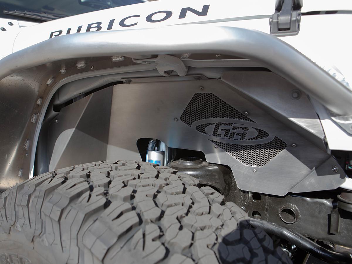 Jk Aluminum Front Inner Fenders 2 Door 4 Door Genright