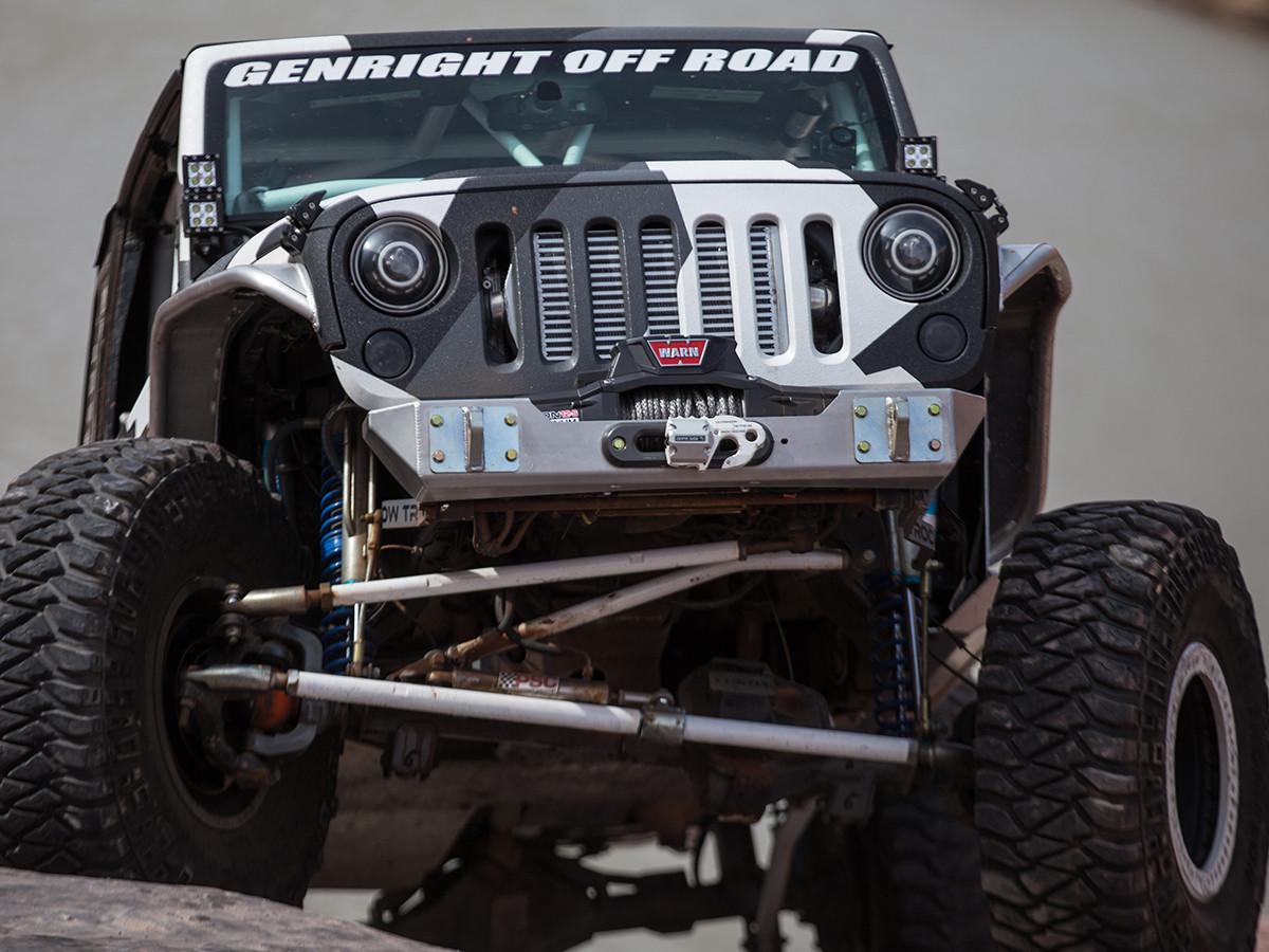 Shown on the StormTrooper Garage Jeep JK