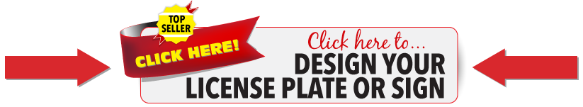 Wholesale Personalized Design Your Own Custom License Plate