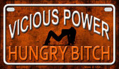 Vicious Power Wholesale Metal Novelty Motorcycle License Plate MP-11665