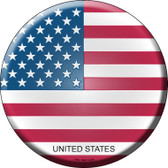 United States Country Wholesale Novelty Metal Circular Sign