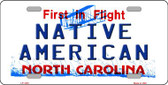 North Carolina Native American Wholesale Metal Novelty License Plate LP-1430