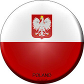 Poland Country Wholesale Novelty Metal Circular Sign