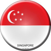 Singapore Country Wholesale Novelty Metal Circular Sign