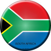 South Africa Country Wholesale Novelty Metal Circular Sign