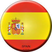 Spain Country Wholesale Novelty Metal Circular Sign
