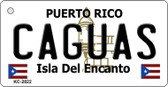 Caguas Puerto Rico Flag Wholesale Novelty Key Chain