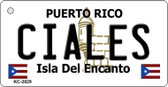 Ciales Puerto Rico Flag Wholesale Novelty Key Chain