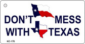 Don't Mess With Texas Wholesale Novelty Key Chain