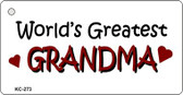 Worlds Greatest Grandma Wholesale Novelty Key Chain