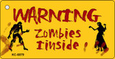 Zombies Inside Wholesale Novelty Key Chain