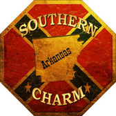 Southern Charm Arkansas Wholesale Metal Novelty Stop Sign