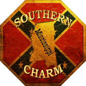 Southern Charm Mississippi Wholesale Metal Novelty Stop Sign