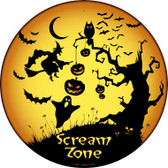 Scream Zone Wholesale Novelty Metal Circular Sign