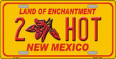 New Mexico 2 Hot Novelty Wholesale Metal License Plate