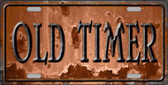 Old Timer Wholesale Novelty Metal License Plate