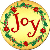 Joy Wholesale Novelty Metal Circular Sign