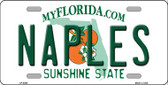 Naples Florida Wholesale Novelty Metal License Plate