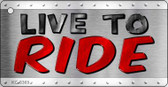 Live To Ride Wholesale Novelty Key Chain