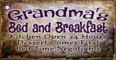 Grandmas Bed & Breakfast Wholesale Novelty Key Chain