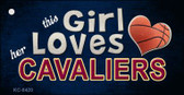 This Girl Loves Her Cavaliers Wholesale Novelty Key Chain