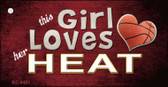 This Girl Loves Her Heat Wholesale Novelty Key Chain