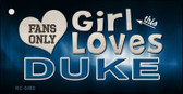 This Girl Loves Duke Wholesale Novelty Key Chain