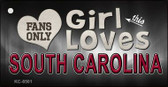 This Girl Loves South Carolina Wholesale Novelty Key Chain
