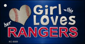 This Girl Loves Her Rangers Wholesale Novelty Key Chain