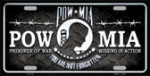POW MIA Wholesale Metal Novelty License Plate