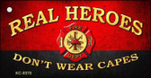 Real Heroes Red Wholesale Novelty Key Chain