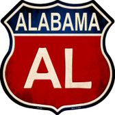 Alabama Wholesale Metal Novelty Highway Shield