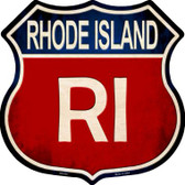 Rhode Island Wholesale Metal Novelty Highway Shield