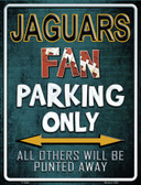 Jaguars Wholesale Metal Novelty Parking Sign