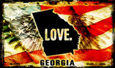 Love Georgia Wholesale Novelty Metal Magnet