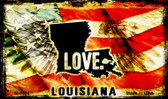 Love Louisiana Wholesale Novelty Metal Magnet