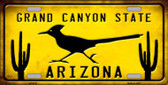 Arizona Grand Canyon State Wholesale Metal Novelty License Plate
