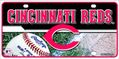 Cincinnati Reds Wholesale Metal Novelty License Plate