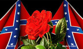 Confederate Rose Wholesale Novelty Metal Magnet
