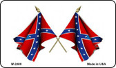 Confederate Waving Flag Wholesale Novelty Metal Magnet