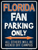 Florida Wholesale Metal Novelty Parking Sign