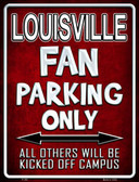 Louisville Wholesale Metal Novelty Parking Sign