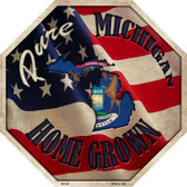 Michigan Home Grown Wholesale Metal Novelty Stop Sign